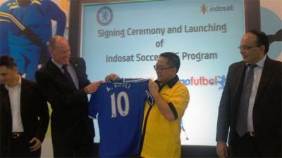 Gandeng Chelsea, Indosat Hadirkan Layanan VAS Hiper Bola