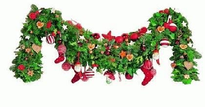 Weihnachtswinterwunderwelt hallo und herzlich willkommen - Weihnachtsgirlande basteln ...