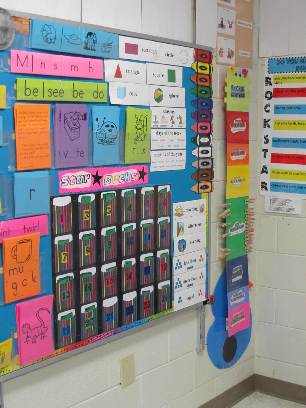 Classroom Theme Ideas For Preschool ~ Kindergarten rocks classroom theme