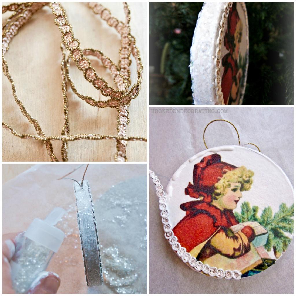 Diy retro christmas decorations - Make Vintage Christmas Ornaments