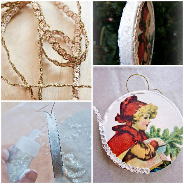 vintage christmas ornaments 2