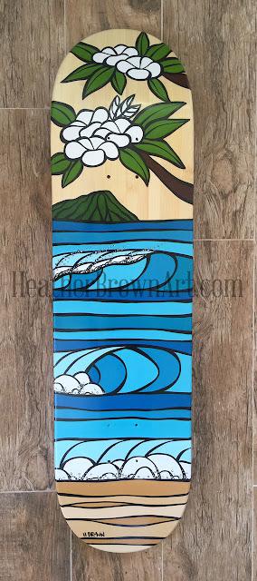 female surf artist