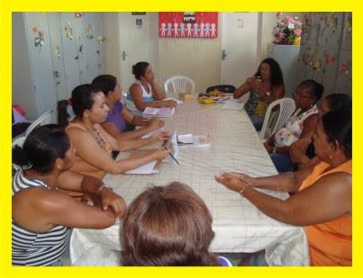 A Escola naTrilha Cultural - Reunião Escola 2 de Julho Maniçoba