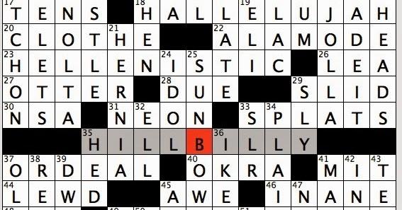 Rex Parker Does The Nyt Crossword Puzzle Polish Hero Walesa Mon 8