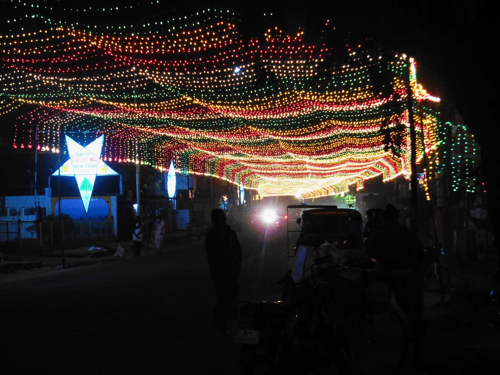 Christmas in Rajamundry
