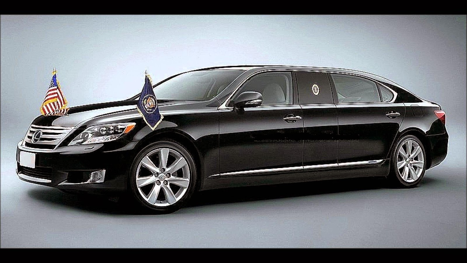 OBAMA NEW LIMO LEXUS LS600hl -The Best Car of the World