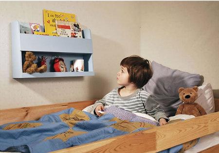 Estantes y repisas para ni os decoracion de salones - Estantes para juguetes ...