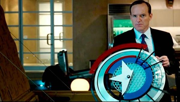 Escudo Capitán America en Iron Man 2
