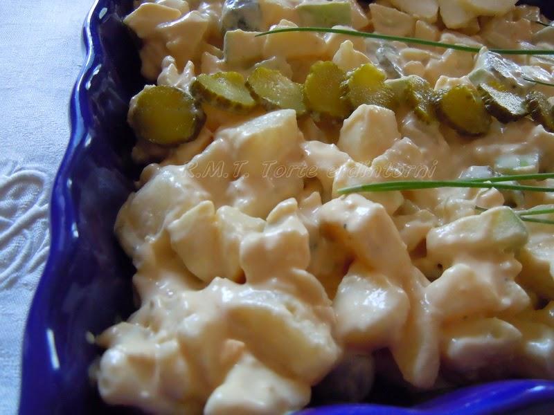 Rasols, insalata di patate lettone
