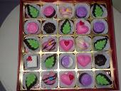 25biji coklat pelbagai inti