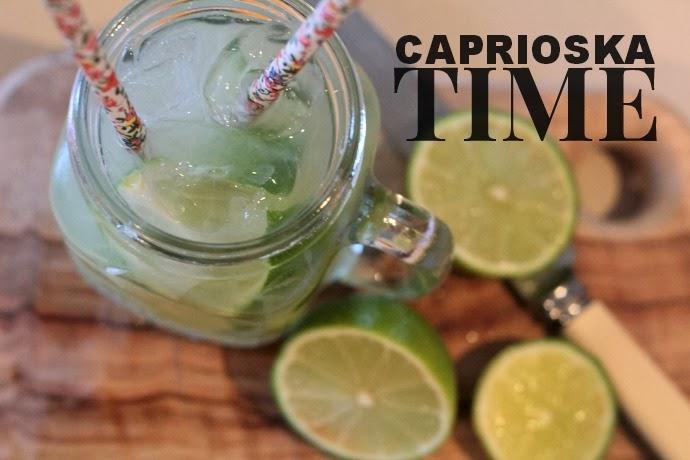 how to make caprioska cocktail