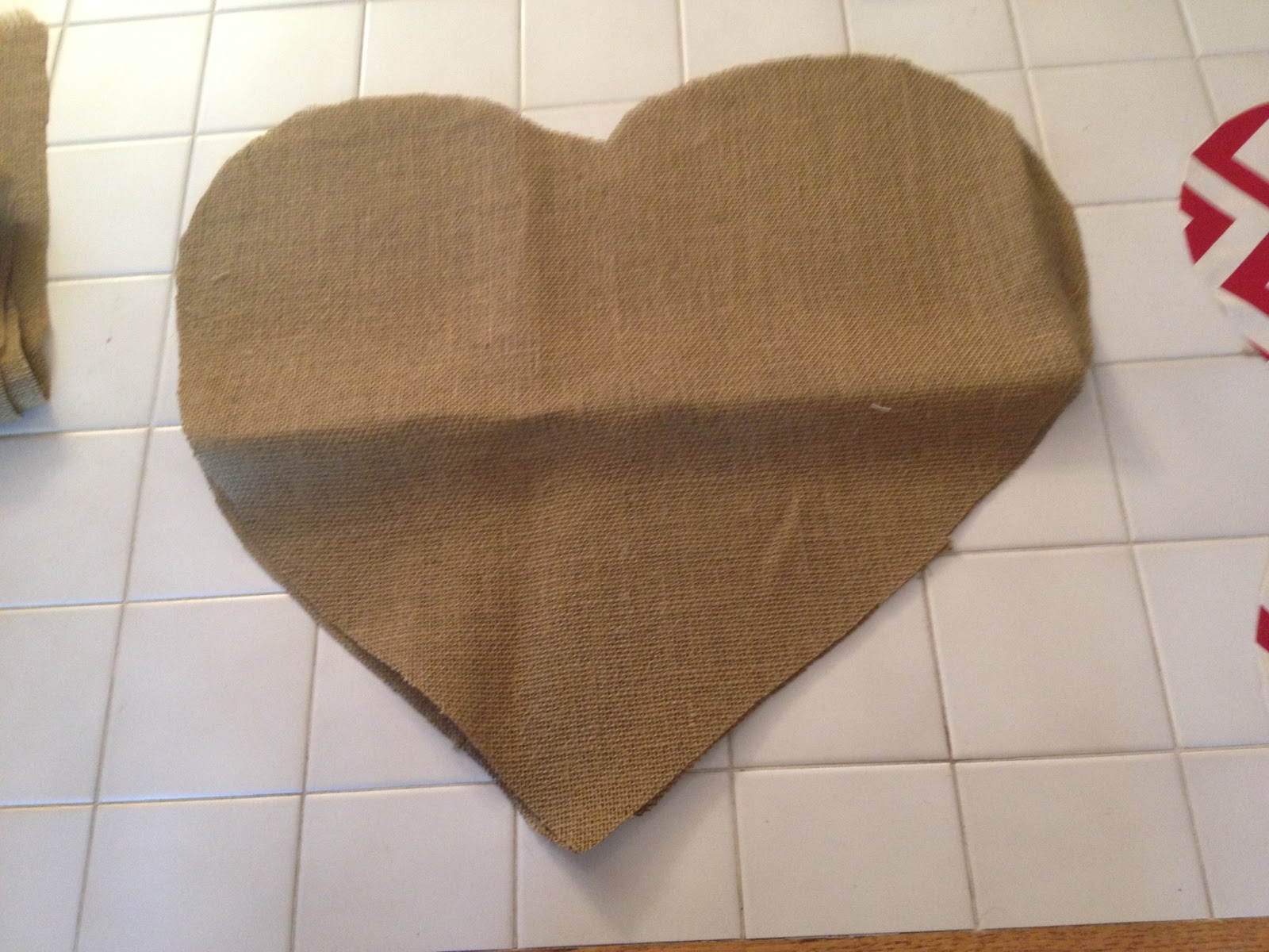 Junque 2 Jewels: Burlap Door Hanger Tutorial