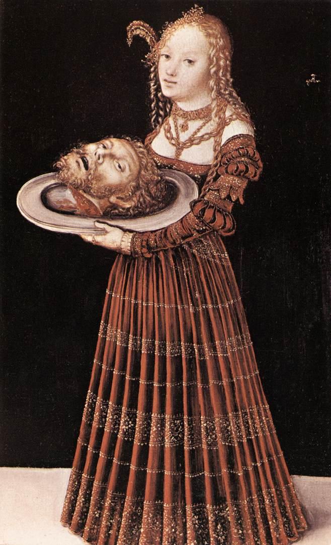 salome cranach painting