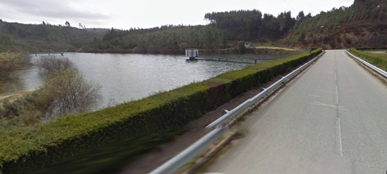 Barragem Vergancinho em 2010