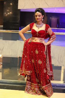Actress Nikitha Narayan Latest  Pictures in Designer Dress at Fashionology Fashion Show 2013 0053.jpg