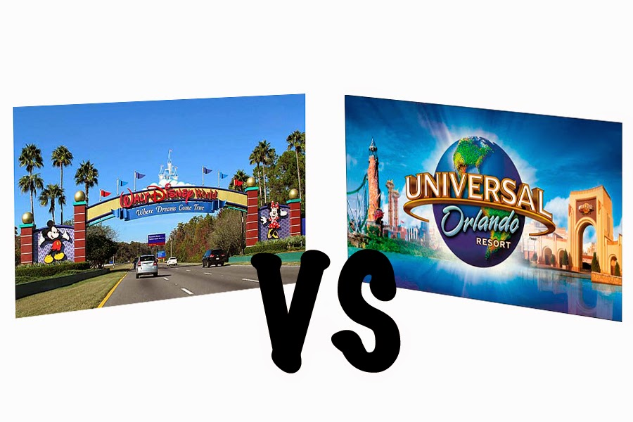 disney vs universal Re: disney vs universal resorts 4 mar 2017, 4:15 pm if you decide on universal, then staying at one of the three onsite hotels that offer front of the line passes(i think hard rock , royal pacific, and portofino) is well worth the money.
