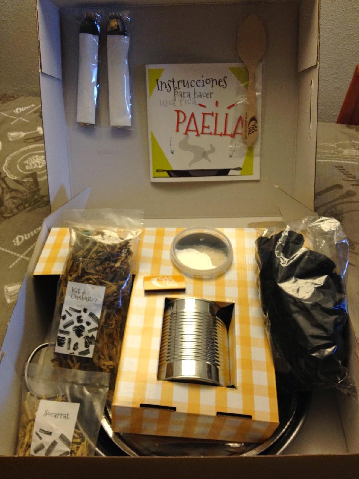 Productos gastraval kit barbacoa paella valenciana y paella marinera recetas de cocina - Cocina con sara paella ...