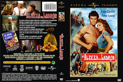 Cover, dvd, caratula: Su Alteza el ladrón | 1951 | The Prince who was a Thief