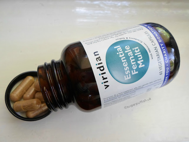 Review Viridian Essential Female Multi Vitamin