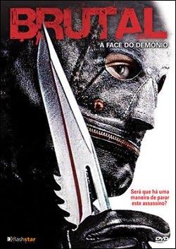 Filme Poster Brutal - A Face do Demônio DVDRip XviD Dual Áudio & RMVB Dublado