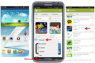uninstall aplikasi android