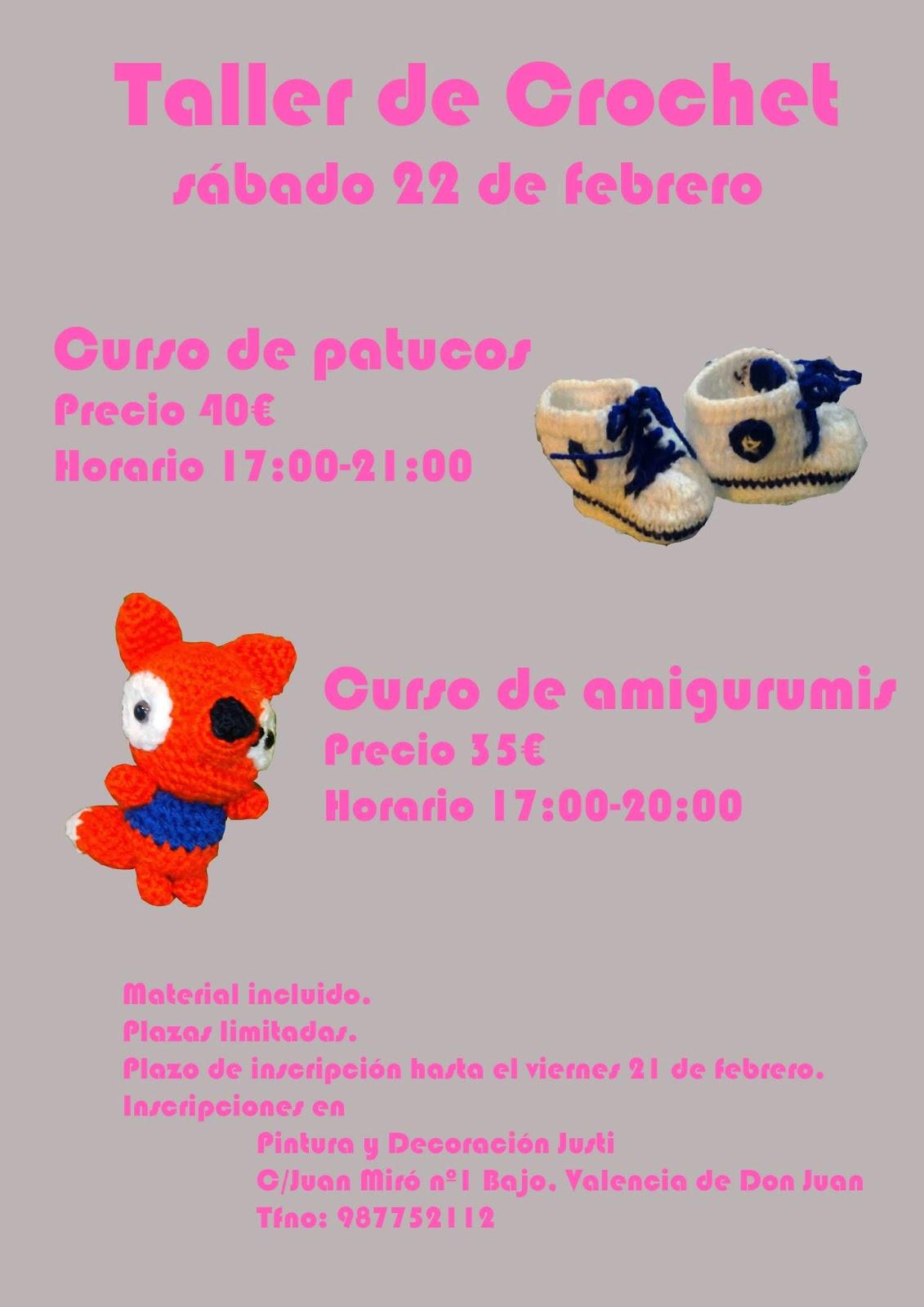 Manualidades La Coyantina Taller De Crochet Amigurumis Y Patucos ~ Cursos De Manualidades En Valencia
