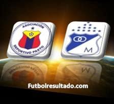 Equipos Deportivo Pasto y Millonarios