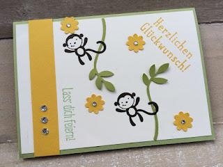 Glückwunschkarte Kindergeburtstag