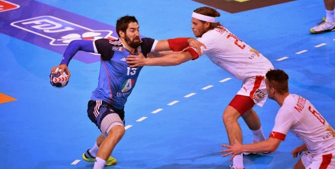 Karabatic enfrentando a Hansen por la Golden League | Mundo Handball