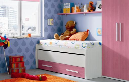 Variedad de dormitorios infantiles a todo color for Dormitorios infantiles para dos