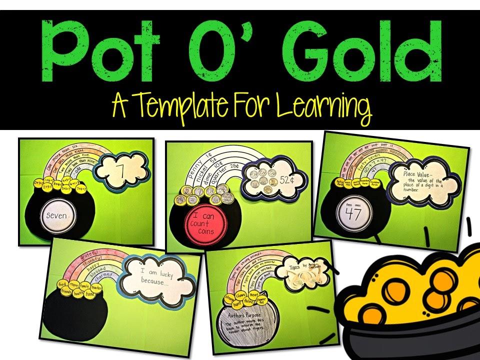 https://www.teacherspayteachers.com/Product/Pot-Of-Gold-A-Template-for-Learning-1737477