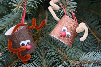 navidad, niños, manualidades