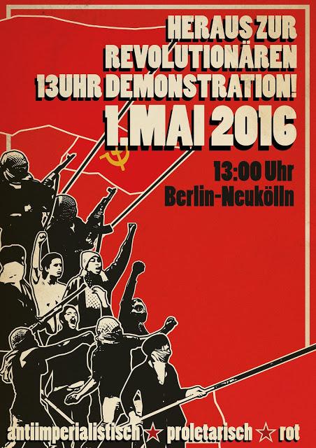 Heraus zum revolutionären 1. Mai!
