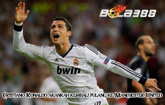 AGEN SBOBET TERPERCAYA - Cristiano Ronaldo akankah kembali pulang ke Manchester United