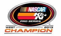Derek Thorn – 2013 NASCAR K&N Pro Series West Champion