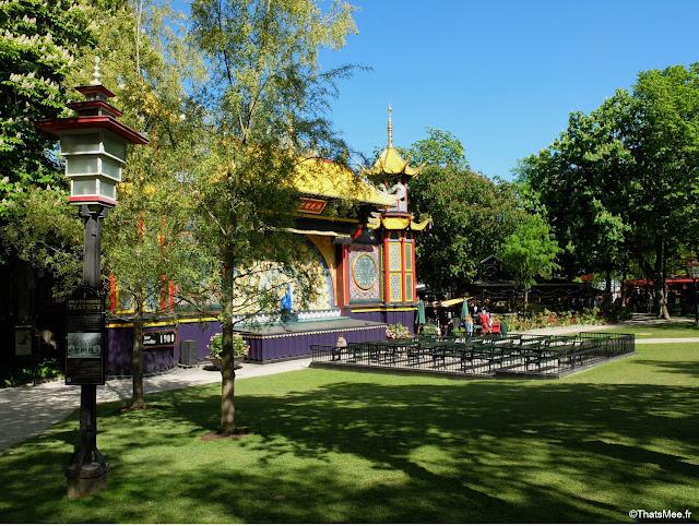 jardin de Tivoli copenhague danemark parc attraction disneyland  scene spectacle