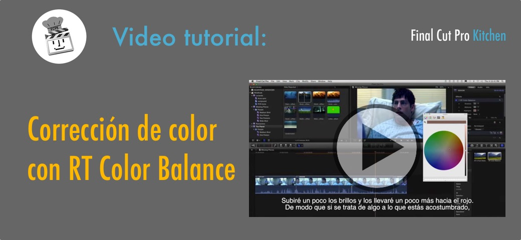 color balance FCPX tutorial
