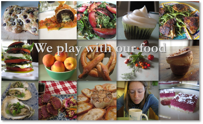 We play with our food