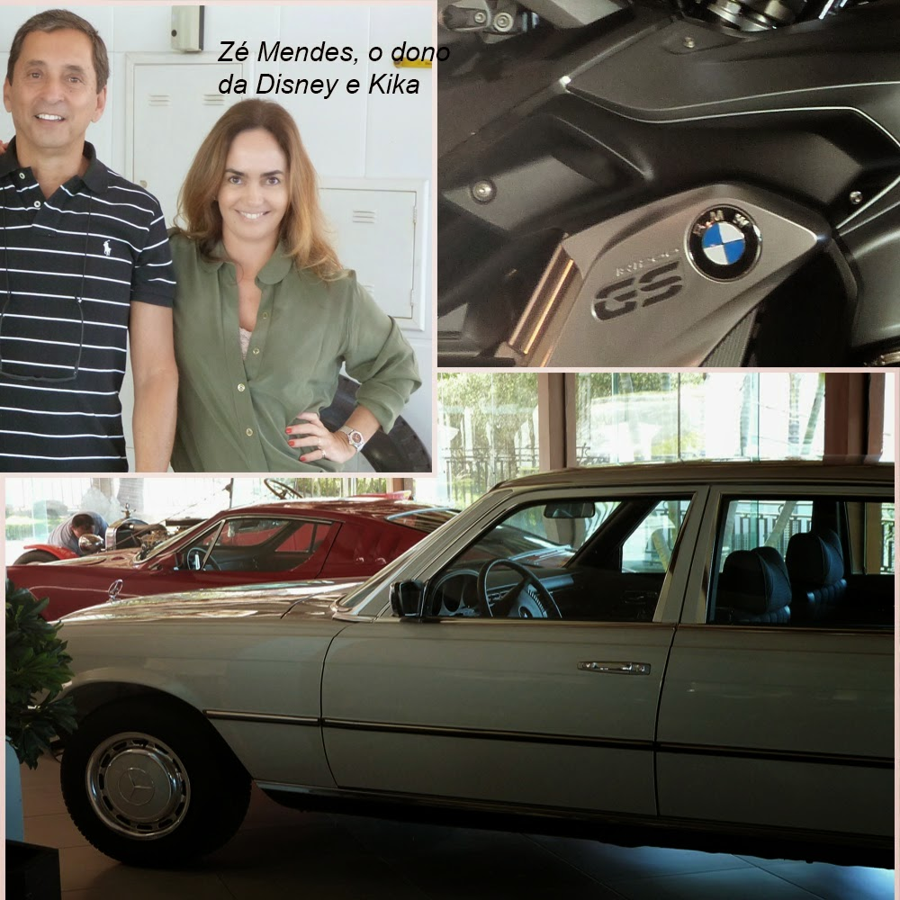 A fantástica garagem de Zé Mendes