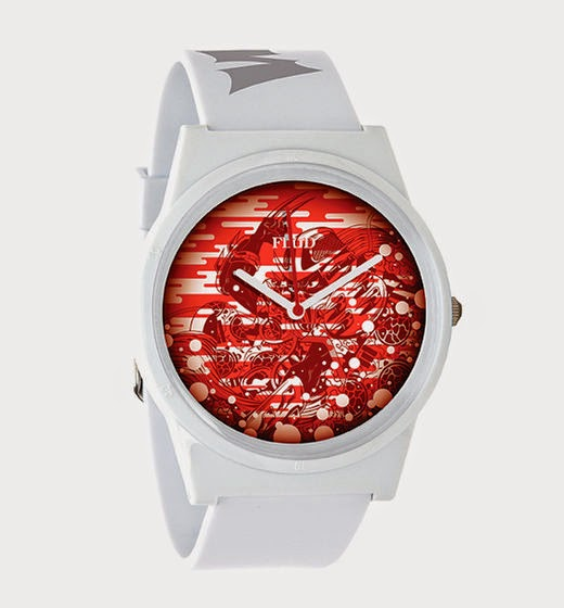 Teenage Mutant Ninja Turtles x Tristan Eaton x FLüD Limited Edition Watch