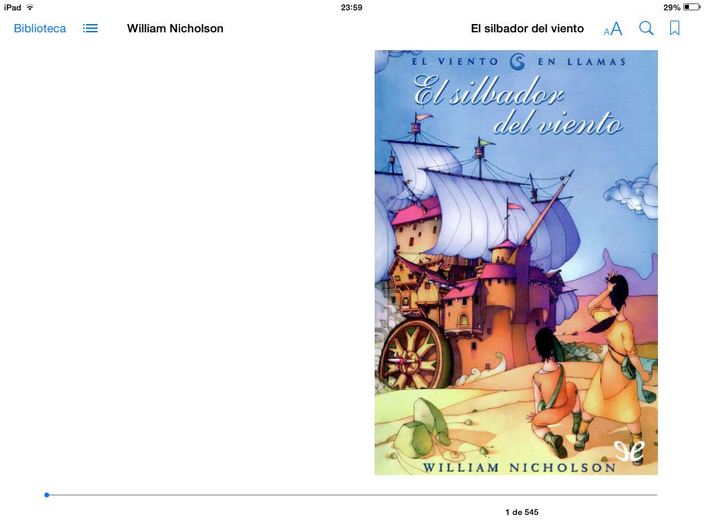 Descargar libros iOS
