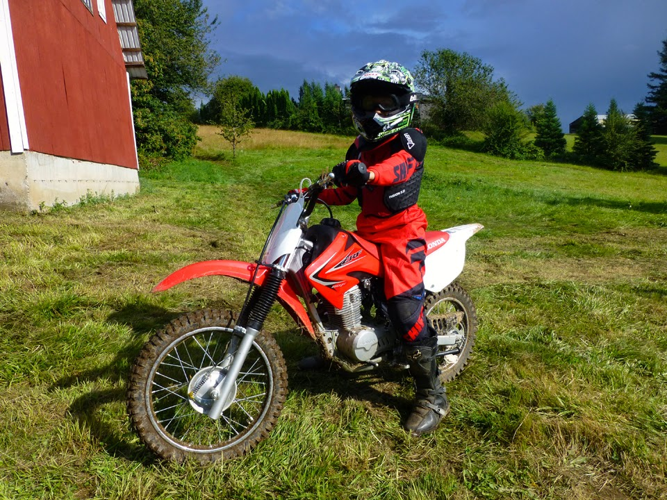 4 And 5 Year Olds On Dirt Bikes Some background last year on