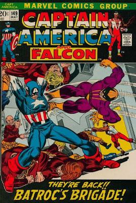 Captain America #149, Batroc the Leaper