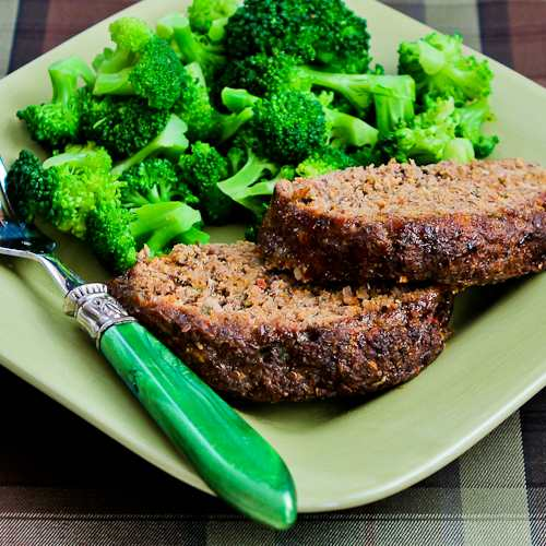 Recipe for Grain-Free Meatloaf with Tomatoes, Fennel, and Flax Seed 