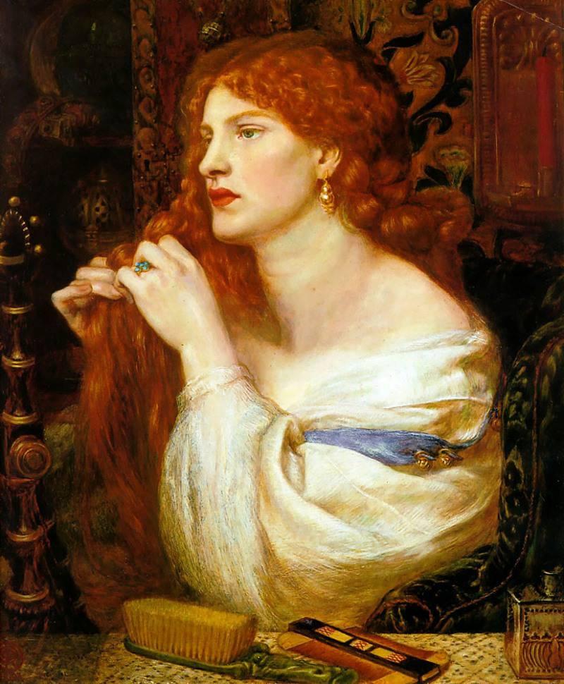Dante Gabriel Rossetti, Pintura Clásica.