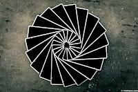 circle cards abstract