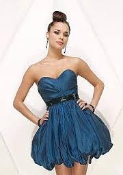 vestido balonê azul para balada - dicas e fotos