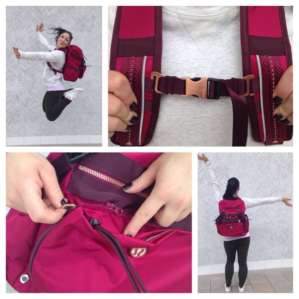 lululemon traveling yogini rucksack