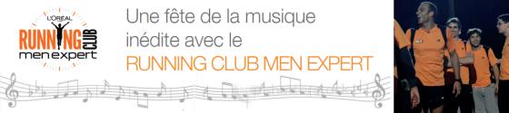 Course dans Paris avec le Running Club Men Expert