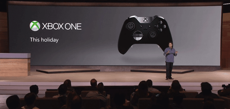xbox one at the Microsoft Event October 2015